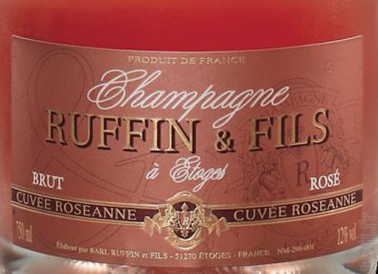 Champagne Ruffin & Fils Rosé Cuvée Roseanne